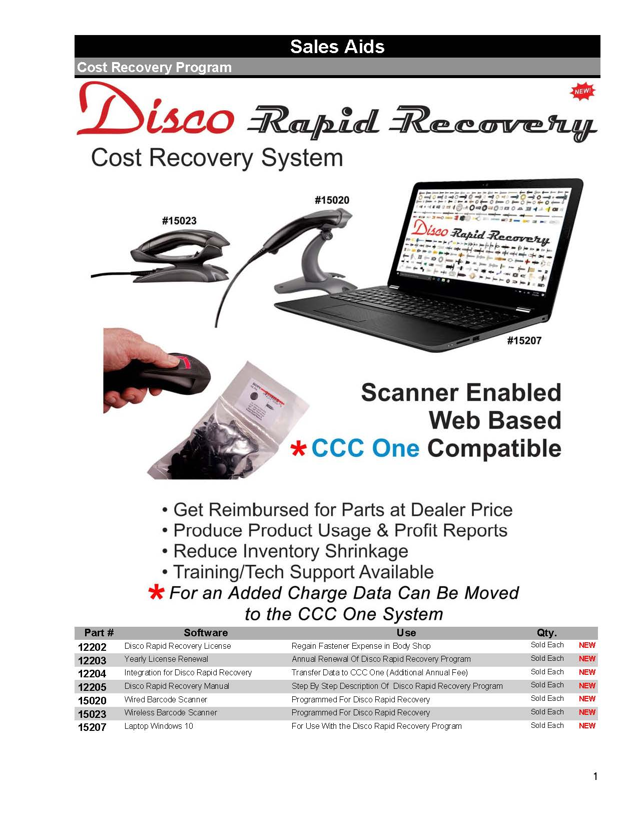 Disco-Rapid-Recovery-System